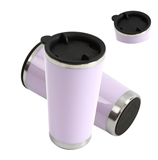 Double Wall Stainless Steel Coffee Cup With Lid