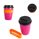 Drinking Cup with Silicone Cover