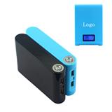 Dual USB 12000mAh Power Bank With LCD