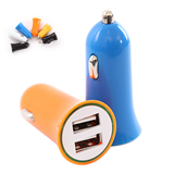 Dual USB Car Charger;Usb Car Charger 2 Port for Mobile Phone
