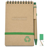 Eco Friendly Recycled Paper Notebook