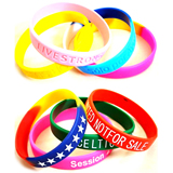 Eco-friendly Promotional Silicone Bracelet