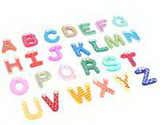 Educational Fridge Magnets- Letters