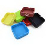 Enviromental Silicone Square Ashtray