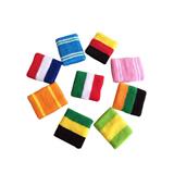 Fahionable Three Colors Stripes Cotton Bracers