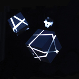 Fantastic LED Cube Wireless Bluetooth Speaker