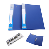 File Folder with Double Metal Clips