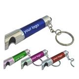 Flashlight LED Keychain/ Bottle Opener