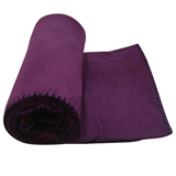 Fleece Blanket with Handle
