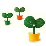 Flower Pots Shape Calendar