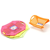 Foldable Plastic Custom Fruit Vagetable Basket