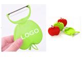 Foldable apple-style peeler