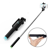 Foldable bluethooth selfie Bluetooth sticks,Selfie monopod