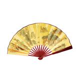 Folding Bamboo Fan