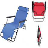 Folding Beach Chair Bed, Deck Chair, Sun Loungers
