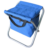 Folding Beach Chair With Cooler Bag;Elderly Folding Chair;Fo