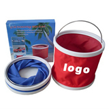 Folding Bucket for Camping and Fishing