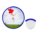 Folding Nylon flying disc/promotion nylon flying  with pouch