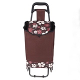 Folding Shopping Bag With Wheels;Custom Shopping Trolley