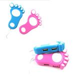 Foot shape USB HUB