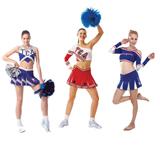 Girls' Sexy School Girls/Cheerleading Uniform