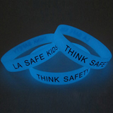 Glowing Silicone Bracelet;Glowing Silicone Wristband