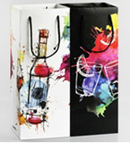 Graffiti Wine bag