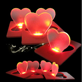 Heart  Shaped Pocket LED Light