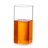 High Quality Custom Square Glass Cup