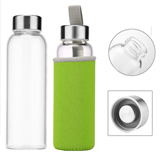 High Quality Promotional Sports Glass Water Bottle With Insu