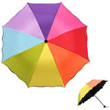 High Quality Straight Beach Rainbow Umbrella