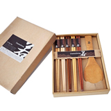 High-quality Wooden Chopstick And Spoon Set