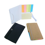 Hot Sale Sticky Note Pad With Card Case