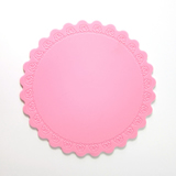 Hot Selling Round Heat Insulation Resistant Silicon Mat