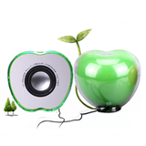 Hot sale mini apple shape speaker Apple Shape Mini Speaker