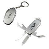 Key Chain with Multifunctional Knives
