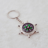 Keychain With Compass