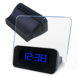 LED Fluorescent Message Board Digital Alarm Clock