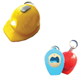 LED Hard Hat Bottle Opener