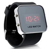 LED Silicone Watch;Custom LED Wrist Watch