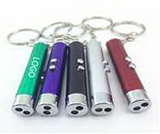 Laser Light Flashlight Key Chain