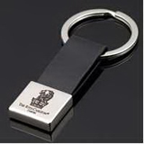 Leather Key Holder with Large Key Ring