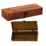 Luxury wooden gift box.