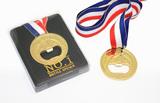 Medal Bottle Opener in Gold