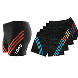 Men Boxer Swimming Suits