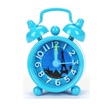 Metal Table Double Bell Desk Alarm Clock