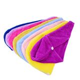 Microfiber Hair-drying Cap; Hair-drying Towel