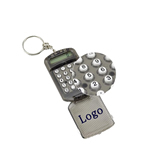Mini Calculator With Key Ring
