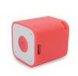 Mini Cube Wireless Bluetooth Speaker with Self-Timer