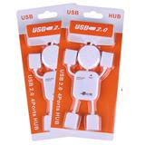 Mini USB 2.0 High Speed 4-Port HUB Sharing Switch